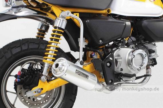 Takegawa Tracker Aluminium Auspuffanlage silber f. Monkey 125