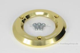 Takegawa Schutz f. Kupplungsdeckel Alu CNC gold eloxiert f. Monkey + Super Cub 125