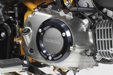 Takegawa Schutz f. Kupplungsdeckel Alu CNC schwarz eloxiert f. Monkey + Super Cub 125