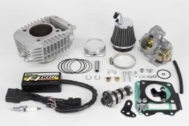 Takegawa Hyper S-Stage N20 181cc Bore Up Tuning Kit mit FI-Controller Type-e & gr. Drosselklappe f. Monkey 125