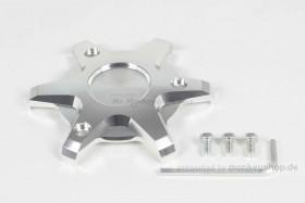 Takegawa Schutz f. Kupplungsdeckel Alu CNC silber eloxiert f. MSX
