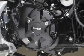Takegawa Schutz f. Kupplungsdeckel Alu CNC schwarz eloxiert f. MSX + Monkey + Super Cub 125