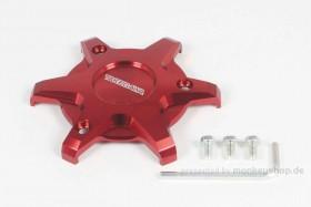 Takegawa Schutz f. Kupplungsdeckel Alu CNC rot eloxiert f. MSX