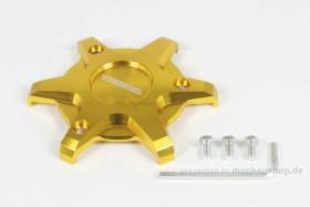 Takegawa Schutz f. Kupplungsdeckel Alu CNC gold eloxiert f. MSX