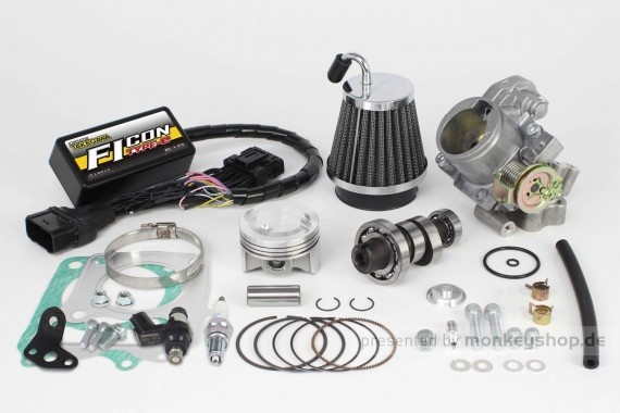 Takegawa Hyper Tuning Kit mit FI-Controller Type-e & Drosselklappe f. Monkey 125
