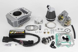 Takegawa Hyper e-Stage N15 143 cc Bore Up Tuning Kit mit FI-Controller Type-e & gr. Drosselklappe f. Monkey 125