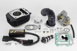 Takegawa Hyper e-Stage N15 143 cc Bore Up Tuning Kit mit FI-Controller Type-e & gr. Drosselklappe f. MSX SF (LED)
