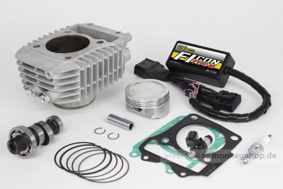 Takegawa Hyper S-Stage N15 181cc Bore Up Tuning Kit mit FI-Controller Type-e  f. Monkey 125