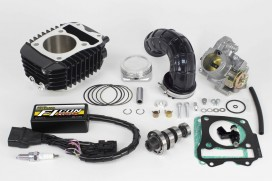 Takegawa Hyper S-Stage N15 181cc Bore Up Tuning Kit mit FI-Controller Type-e & gr. Drosselklappe f. MSX SF (LED)