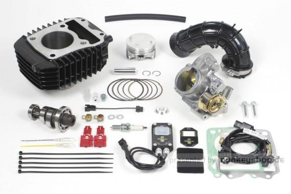 Takegawa Hyper e-Stage N15 143 cc Bore Up Tuning Kit mit FI-Controller 2 & gr. Drosselklappe 2 f. MSX