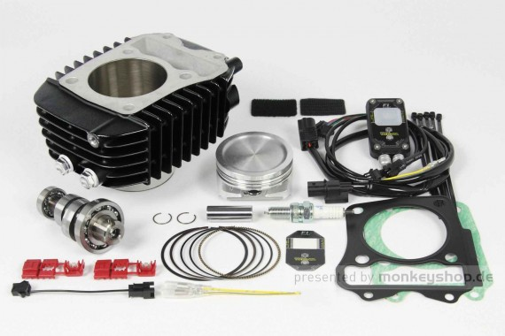 Takegawa Hyper S-Stage N15 181 cc Bore Up Tuning Kit mit FI-Controller 2 f. MSX SF (LED)