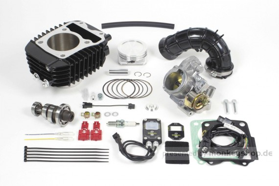 Takegawa Hyper e-Stage N15 181 cc Bore Up Tuning Kit mit FI-Controller 2 & gr. Drosselklappe f. MSX SF (LED)