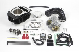 Takegawa Hyper e-Stage N15 181 cc Bore Up Tuning Kit mit FI-Controller 2 & gr. Drosselklappe f. MSX
