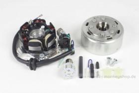 Takegawa Super Street Outer Rotor Kit 12 V CDI Zündung Umbausatz  f. CY50 XL50 CB50 6 V