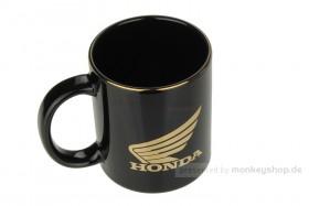 Honda Racing Tasse schwarz gold