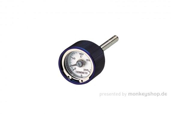 Daytona Öltemperatur Anzeige Aluminium blau eloxiert f. Monkey Dax
