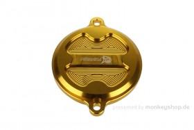 Aluminium Nockenwellendeckel gelb eloxiert f. Super Cub + Monkey 125 + MSX