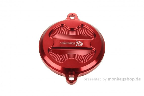 Aluminium Nockenwellendeckel rot eloxiert f. Super Cub + Monkey 125 + MSX