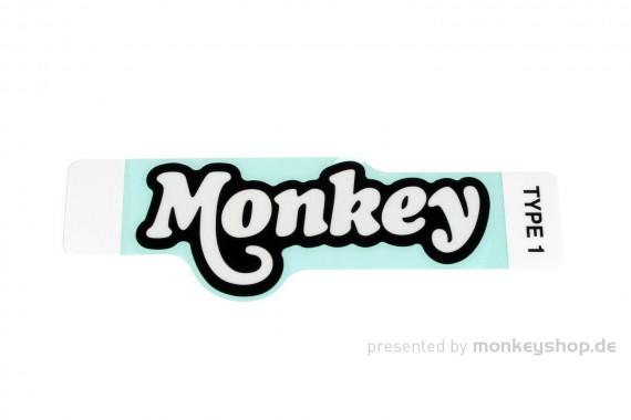 """Honda Aufkleber """"Monkey"""" 122x50 mm schwarz f. Monkey 125"""