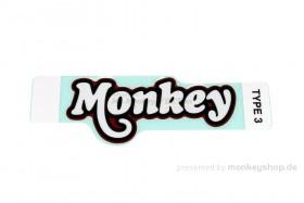 """Honda Aufkleber """"Monkey"""" 122x50 mm rot f. Monkey 125"""