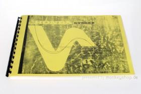 Ersatzteil Handbuch Liste Katalog f. Honda CY50