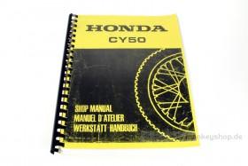 Werkstatt Handbuch f. Honda CY50