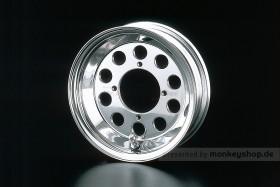 Daytona 2.50x8 10-Loch Felge Alu poliert