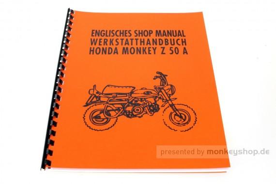 Werkstatt Handbuch f. Honda Z50A Z50J1