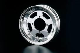 Daytona 2.50x8 5-Speichen Felge Alu poliert