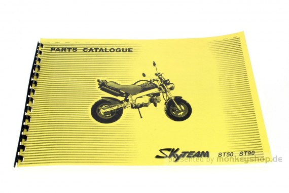 Ersatzteil Handbuch Liste Katalog f. Skyteam PBR
