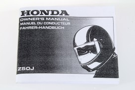 Fahrerhandbuch f. Honda Monkey