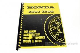 Werkstatt Handbuch f. Honda Monkey 6V Z50J / Gorilla 6V Z50G