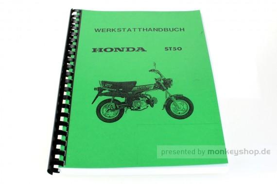 Werkstatt Handbuch f. Honda Dax 12V