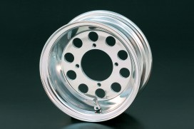 Daytona 3.50x8 10-Loch Felge Alu poliert
