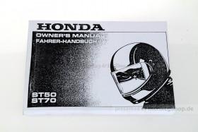 Fahrerhandbuch f. Honda Dax 12V