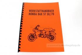 Werkstatt Handbuch f. Honda Dax 6V