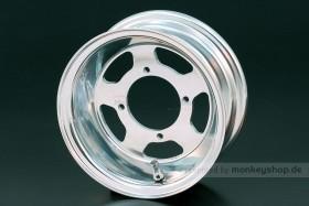 Daytona 3.50x8 5-Speichen Felge Alu poliert
