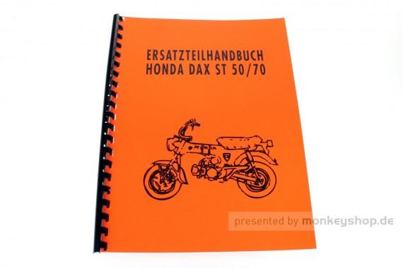 Ersatzteil Handbuch Liste Katalog f. Honda Dax 6V