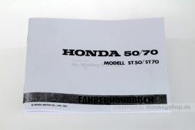 Fahrerhandbuch Honda Dax 6V