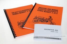 "Literatur Sparpaket ""rundum sorglos"" f. Honda Monkey Z50A"