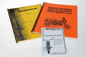 "Literatur Sparpaket ""rundum sorglos"" f. Honda Monkey Z50J1"