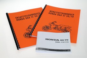 Literaturpaket f. Honda Dax 6V