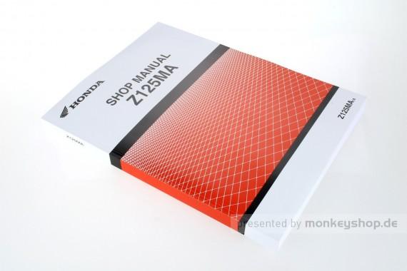 Honda Werkstatt Handbuch f. Honda Monkey 125 Z125MA