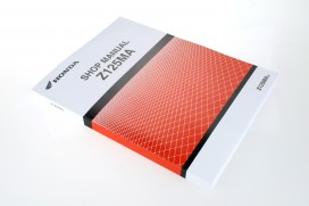 Honda Werkstatt Handbuch Deutsch f. Honda Monkey 125 Z125MA