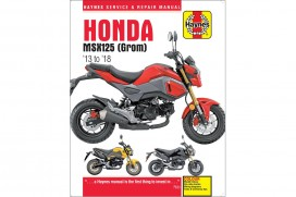 Haynes Service & Repair Manual f. Honda MSX 125 (GROM) 2013 - 2018