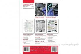 Haynes Service & Repair Manual f. Honda MSX 125 (GROM) 2013 - 2018