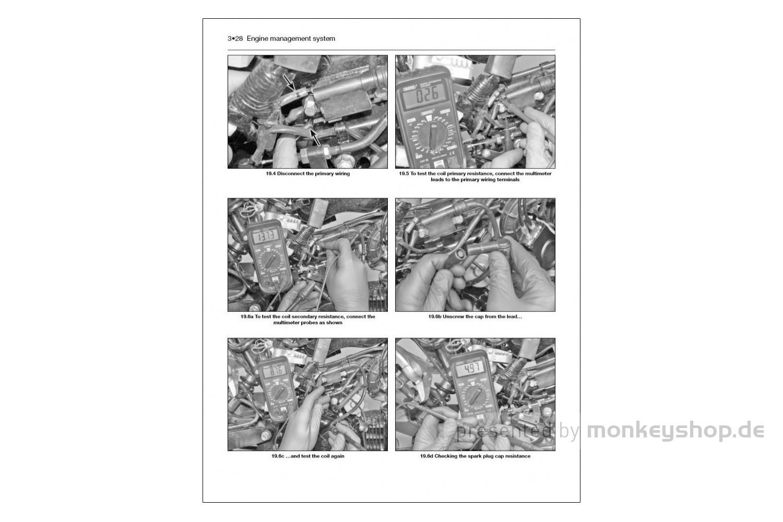 2013-2018 Service Repair Haynes Workshop Manual Honda MSX125 Grom