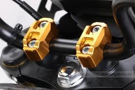 Kitaco obere Lenkerklemmen Set Aluminium gelb eloxiert f. Monkey 125