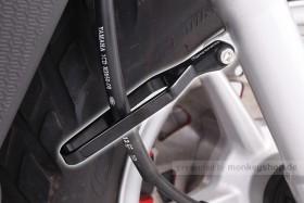 Kitaco Aluminium CNC Kabelführung universal schwarz