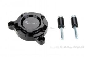 Kitaco E-Starter Deckel Aluminium CNC schwarz eloxiert f. MSX + Monkey 125